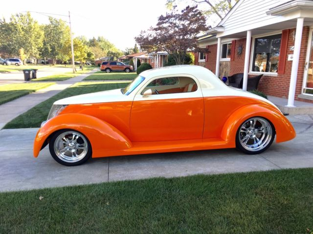 1937 ford custom three window coupe over the top build for 1937 ford 3 window coupe for sale