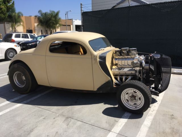 1937 ford monitti pro street coupe project car for sale ford other 1937 for sale in huntington. Black Bedroom Furniture Sets. Home Design Ideas