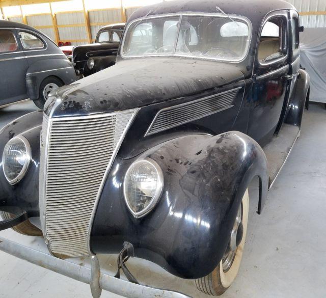 1937 ford sedan barn find 27 000 miles 85hp flathead v8 for 1937 ford 4 door sedan for sale