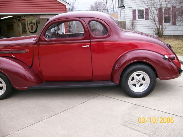 1937 Dodge Coupe Street Rod Project Car For Sale: 1937 PLYMOUTH BUSINESS COUPE STREET ROD
