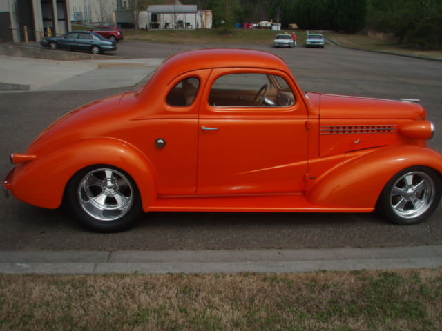 1938 38 Chevy Master Deluxe Coupe Chevrolet Street Hot Rat