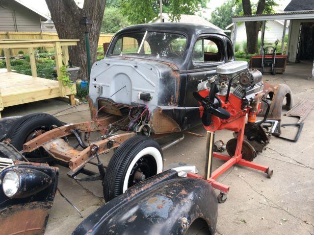 1938 Chevrolet Business Coupe 1950's Hot Rod Rat Rod Gasser