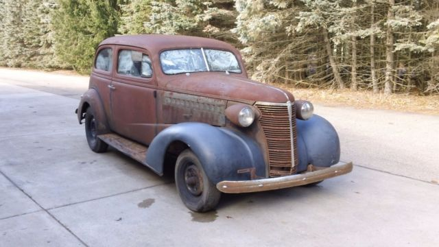 1938 chevy master 2 door sedan project car very complete for 1938 chevy 4 door sedan for sale