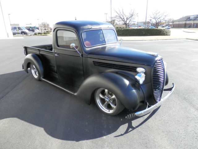 1938 ford custom classic street rod hot rod show truck pro touring no rat rod for sale ford