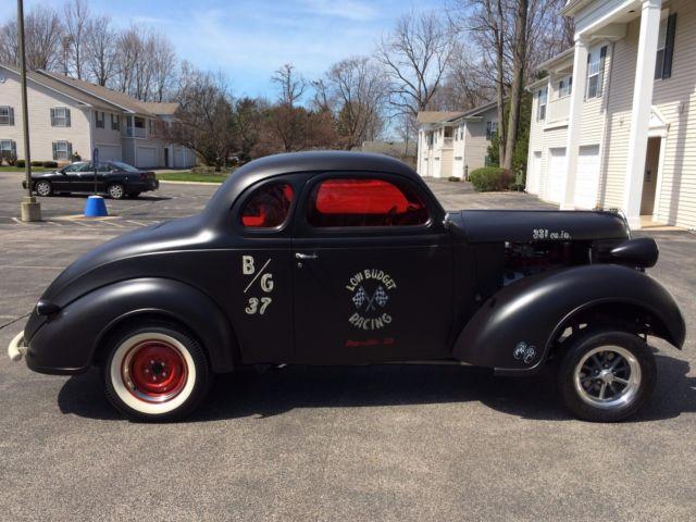 Car Vin Check >> 1938 Plymouth Coupe Hemi Powered Gasser Rat Rod Drag Car ...