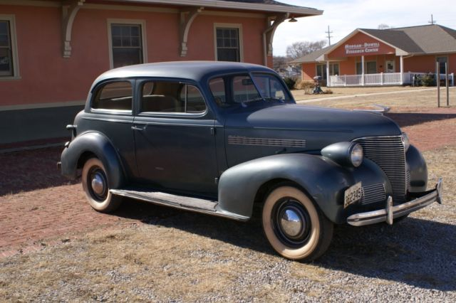 1939 chevrolet master deluxe 2 door sedan for sale