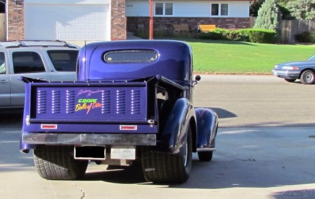 1939 Chevrolet Pickup 383 ci 671 Weiand Blower, 350 Trans