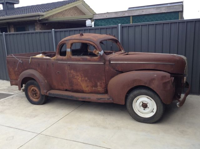 1940 1941 ford coupe ute hot rod rat rod project for sale ford other pickups 1941 for sale. Black Bedroom Furniture Sets. Home Design Ideas