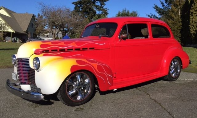 Vehicles Other Automobiles For Sale In Victoria Bc: 1940 Chevrolet 2 Door Sedan Hot Rod For Sale