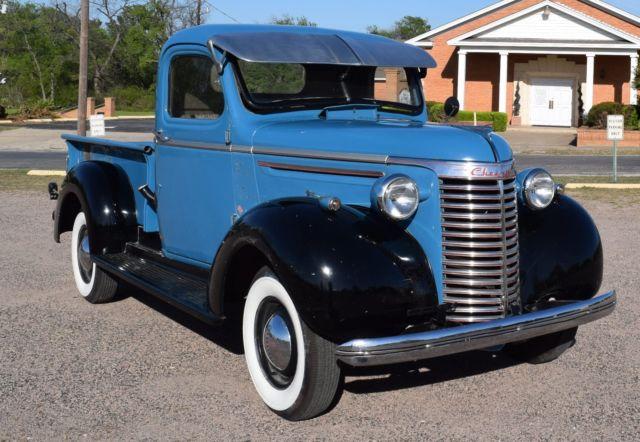 1940 chevy 1 2 ton short bed pickup rebuilt 235 3 speed in floor good glass for sale. Black Bedroom Furniture Sets. Home Design Ideas