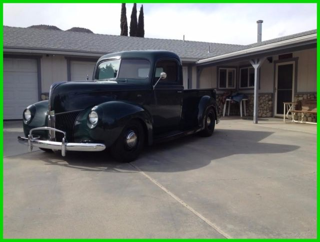 1940 ford 1 2 ton used automatic rwd pickup truck for sale ford other 1940 for sale in bishop. Black Bedroom Furniture Sets. Home Design Ideas