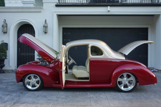 1940 Ford Coupe, AMAZING BUILD!! Ride Tech air suspension