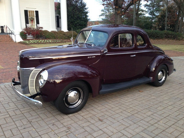 1940 Ford Deluxe Coupe 350-4 TH350 PS PB Vintage Air AC Pro Touring