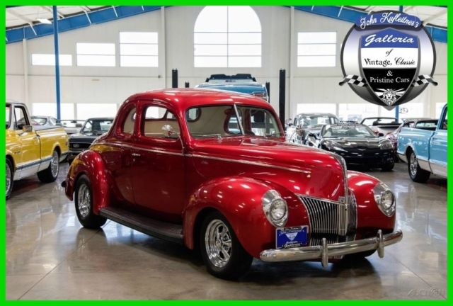 1940 ford deluxe coupe 400 cid v8 automatic transmission power steering air 40 for sale ford. Black Bedroom Furniture Sets. Home Design Ideas