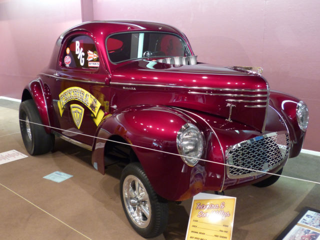 1940 WILLYS COUPE B/G GASSER for sale - Willys coupe 1940 ...