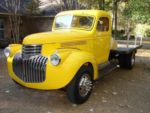 1941 1946 chevy chevrolet truck pickup flatbed cabover coe classic antique 350 for sale. Black Bedroom Furniture Sets. Home Design Ideas