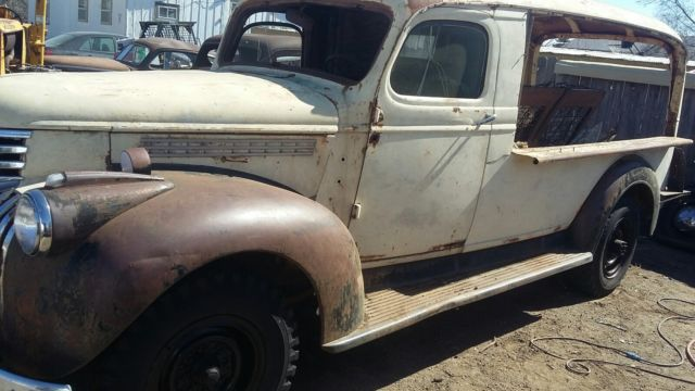 1941 1946 chevy panel wagon canopy express rat rod hot rod produce truck for sale chevrolet. Black Bedroom Furniture Sets. Home Design Ideas