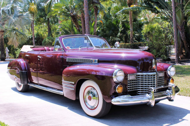 1941 cadillac series 62 4 door convertible video inside for sale cadillac series 62 1941 for. Black Bedroom Furniture Sets. Home Design Ideas