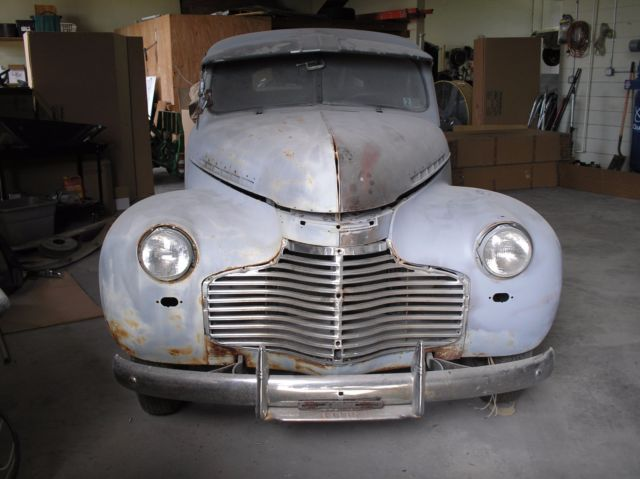 1941 Chevrolet Business Man's Coupe Project Car for sale - Chevrolet