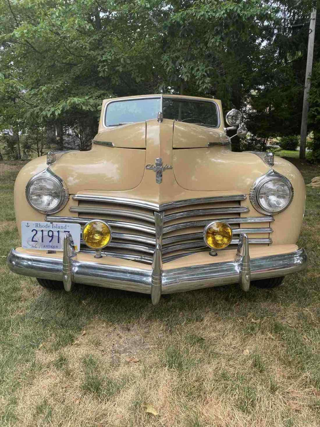 1941 Chrysler New Yorker Convertible Brown RWD Manual New ...