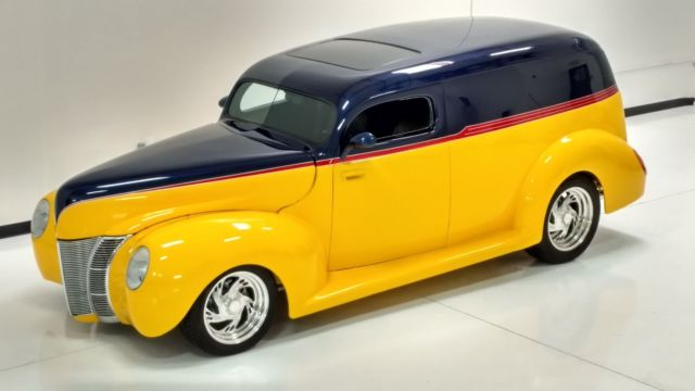 1941 Ford sedan delivery Street Rod 1940 Ford front end, Hot Rod for