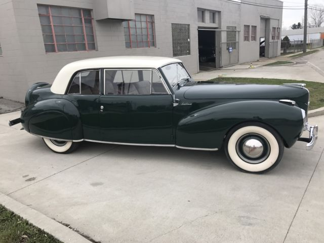 1941 lincoln continental coupe v12 very nice example owner over 20 years for sale lincoln. Black Bedroom Furniture Sets. Home Design Ideas