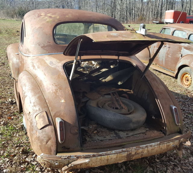 1941 Packard 110 Coupe PARTS OR RESTORE For Sale