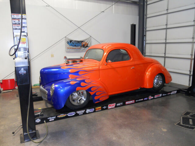 Willys Coupe Blown Hemi