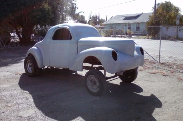 1941 WILLYS COUPE PROJECT GASSER ROLLER RAT HOT ROD SET UP