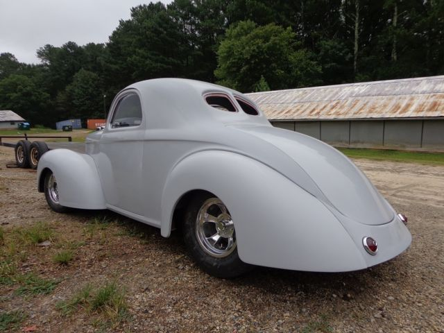 1941 Willys project, new fiberglass body on new tube chassis, hot