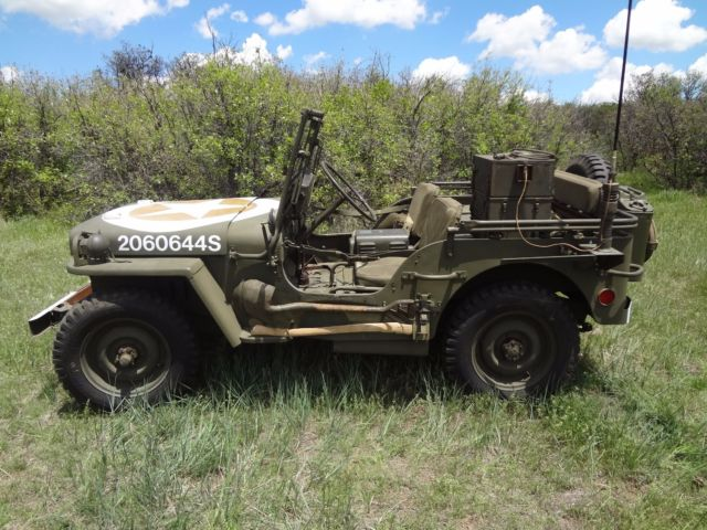 1943 Ford Gpw Jeep Military Vehicle Wwii For Sale Jeep