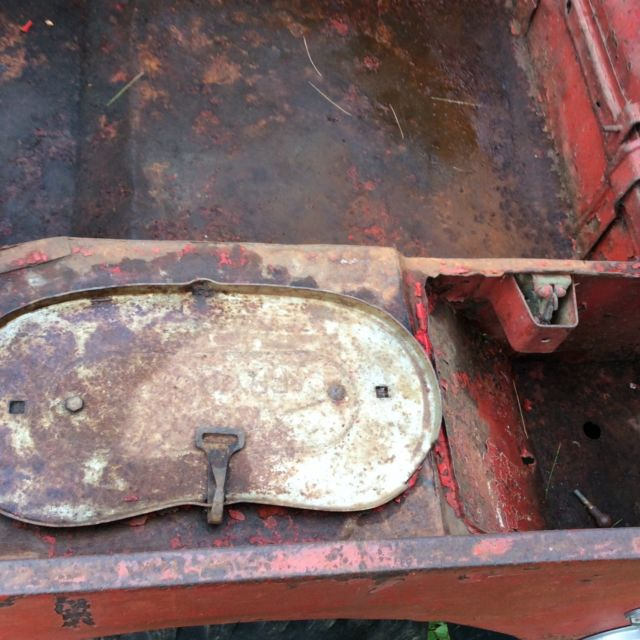 1943 WILLYS MB Fire Jeep For Restoration Military GPW For