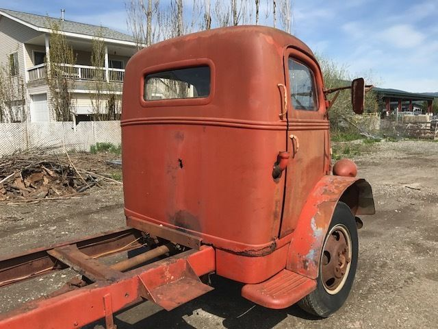 1946 1947 1941 1942 ford coe cabover truck flathead v8 ratrod hotrod project for sale