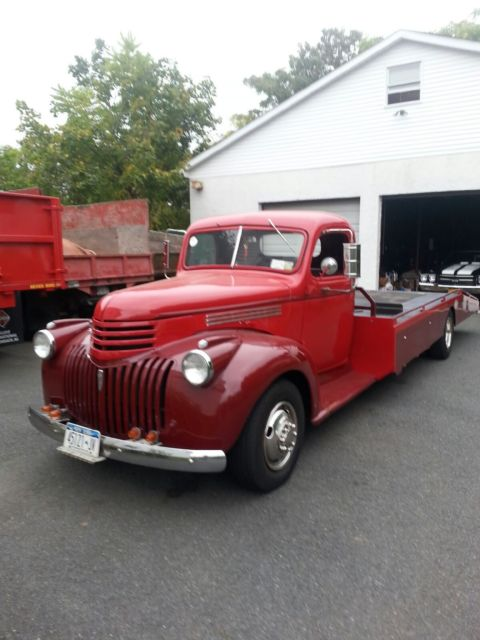 1946 Chevrolet Ramp Style Car Carrier Tow Truck For Sale