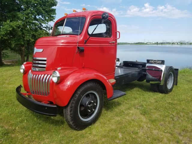 Craigslist Nd Cars: 1946 Chevy Coe Cabover Truck For Sale