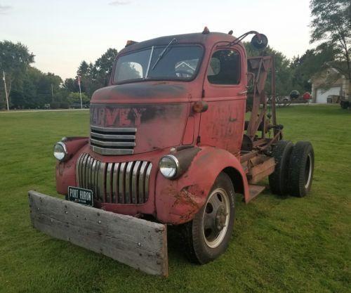 1946 Chevy Coe Rat Rod Wrecker Tow Truck Manley Weaver Cab
