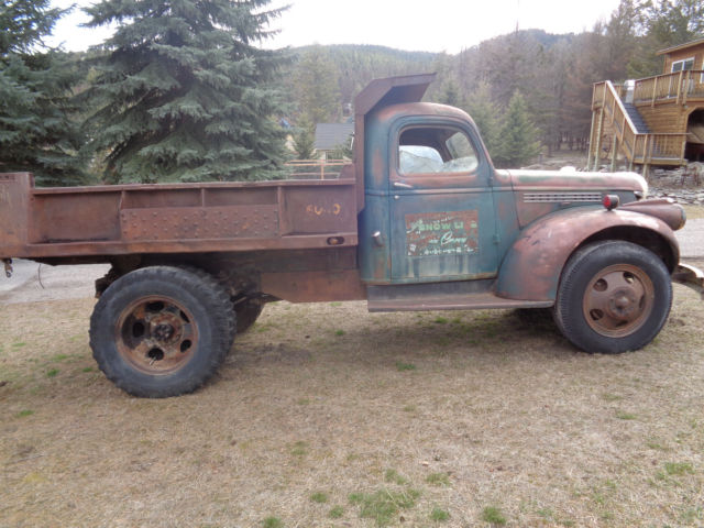 Chevy Dump Truck