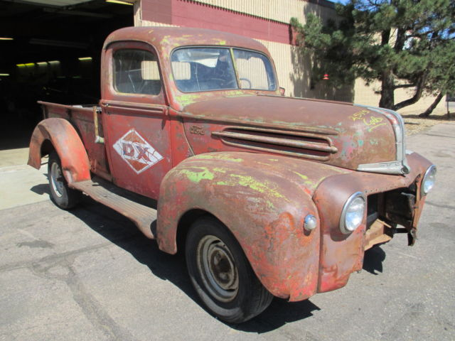 1946 Ford 1 2 Ton Pick Up Truck Project Rat Hot Street