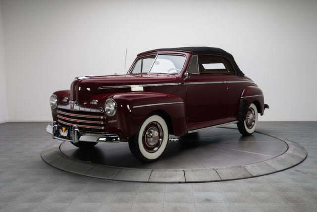 1946 ford super deluxe convertible 4386 miles dynamic. Black Bedroom Furniture Sets. Home Design Ideas