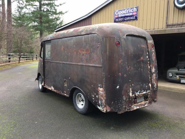 1946 international harvester k1m metro van divco milk truck patina rat rod for sale. Black Bedroom Furniture Sets. Home Design Ideas