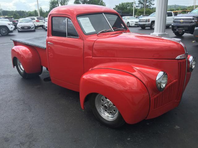 Studebaker Truck Fenders : Studebaker hot rod pickup pick up truck hemi tubbed