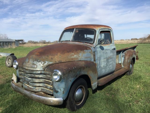 1947 49 51 chevy gmc pickup ford rat rod for sale chevrolet other pickups 3600 1950 for sale. Black Bedroom Furniture Sets. Home Design Ideas