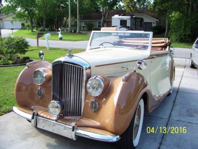 1947 Bentley Mark VI Drophead Convertible for sale - Bentley
