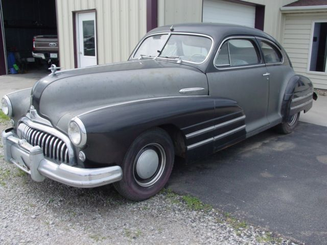 1947 buick sedanette model 46s barn find for sale. Black Bedroom Furniture Sets. Home Design Ideas
