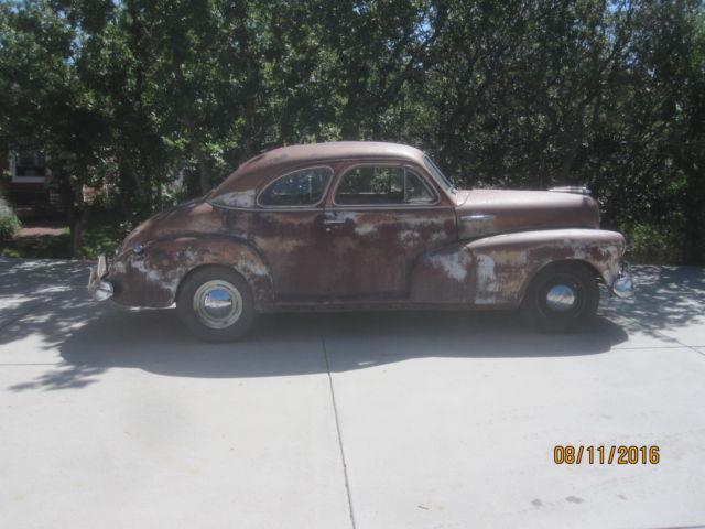 1947 chevy fleetmaster2 door sport coupe rat rod street for 1947 chevy 2 door coupe