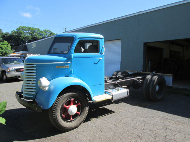 1947 Diamond T DT 509 Cab Over COE Cabover Truck No Reserve