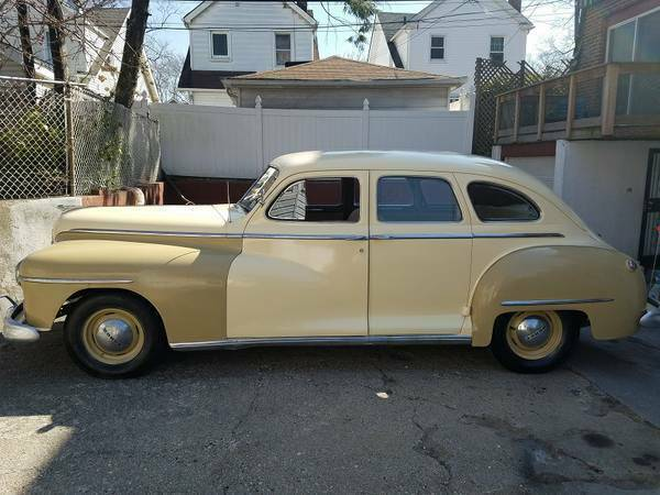 Vintage Cars For Sale In Jamaica: 1947 Dodge D24 Beautiful Ready For A Movie. For Sale