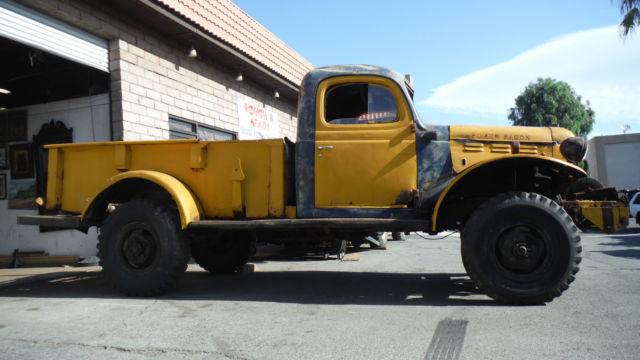 1947 Dodge Wdx Wagon 4x4 1 Ton Pickup W Winch For In Palm Desert California United States