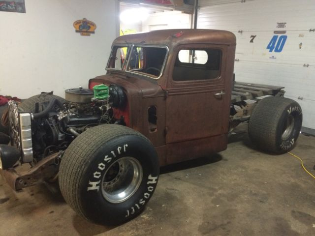 1947 Federal Semi Rat Rod On Chevy 1500 Chassis For Sale