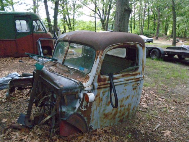 Antique Ford Fenders : Ford truck cab fenders and hood for sale